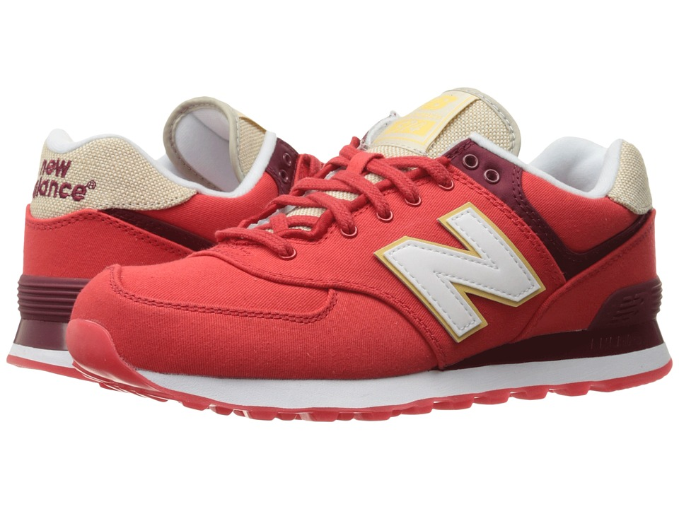 New Balance Classics ML574 Retro Surf (Chinese Red/White) Men