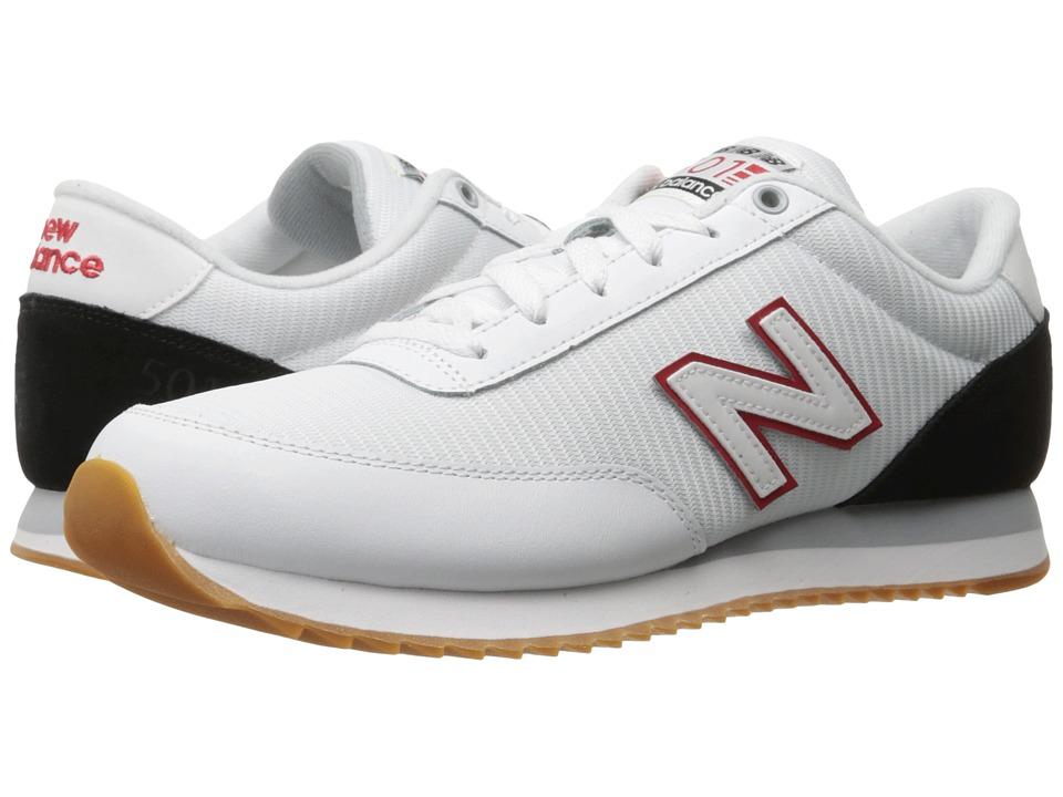 New Balance Classics MZ501 (White/Black/Red) Men