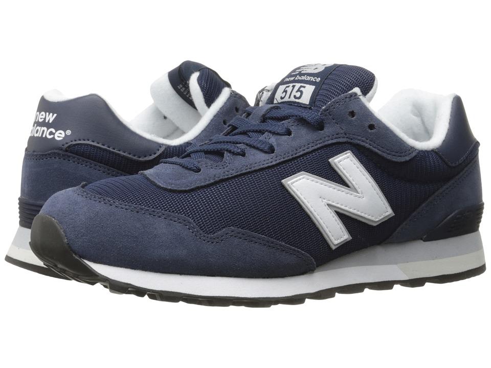 New Balance Classics - ML515 (Navy/White 2) Mens Classic Shoes