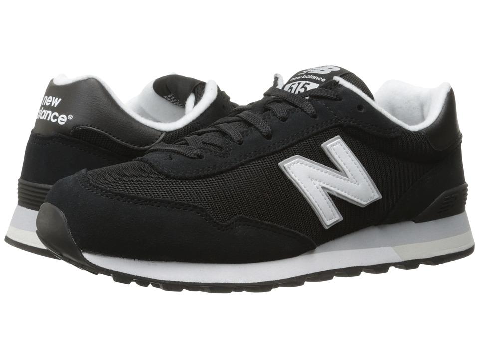 New Balance Classics ML515 (Black/White) Men