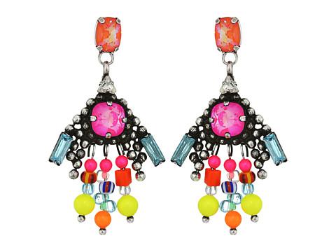 DANNIJO LAIBA Earrings - Ox Silver/Multi