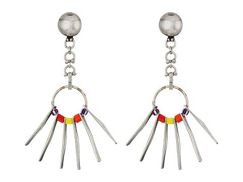 DANNIJO TASHA Earrings - Ox Silver/Multi