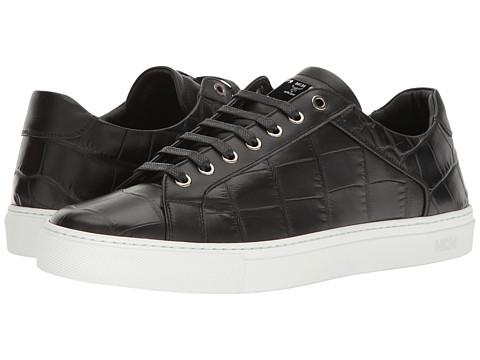 MCM Stamped Croc Low Top Sneaker