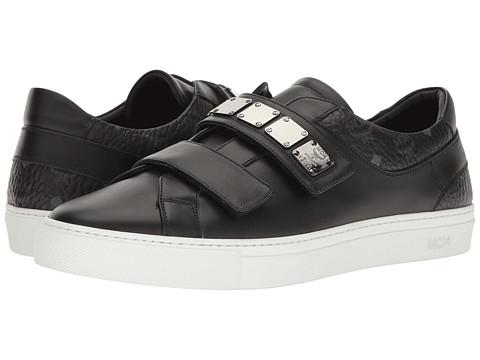MCM Low Top Sneaker w/ Brass Plate Detail