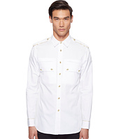 Pierre Balmain - Epaulet Button Up