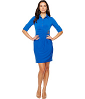 Tahari by ASL - Jersey Shirtdress Sheath