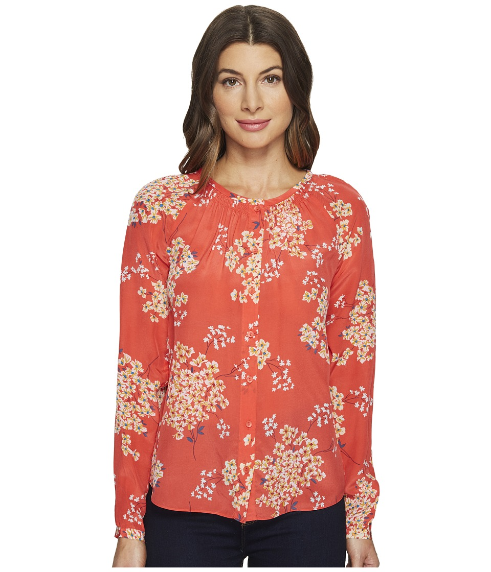 Rebecca Taylor - Long Sleeve Philox Floral Top