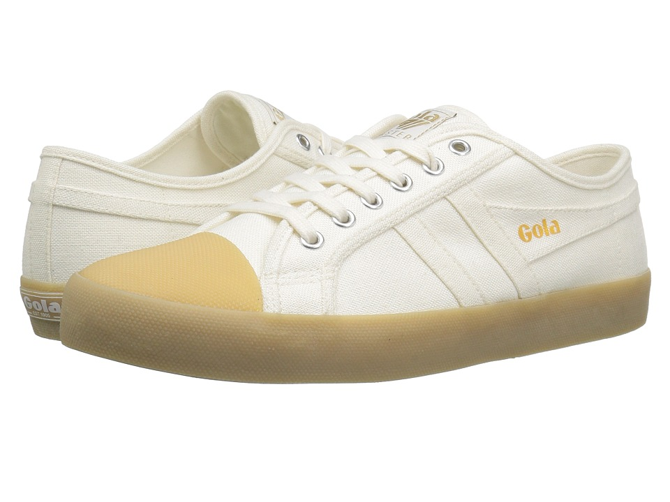 Gola Coaster Linen (Off-White/Gum) Men
