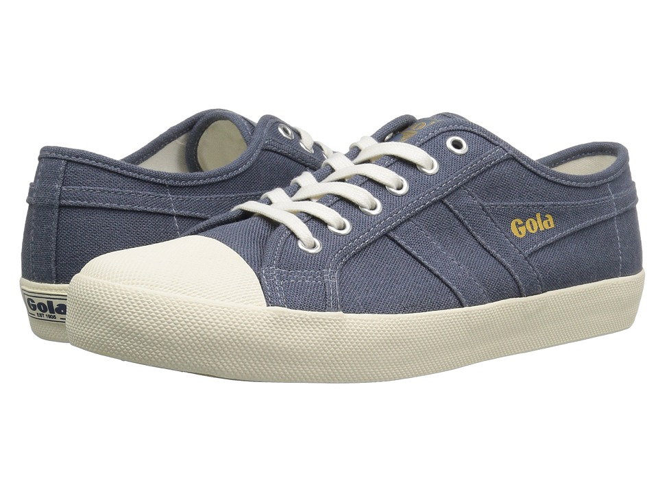 Gola Coaster Linen (Slate Blue/Off-White) Men