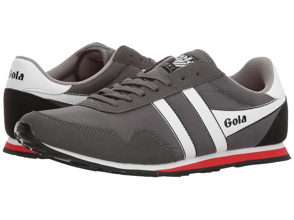 Gola Monaco (Grey/White/Red) Men