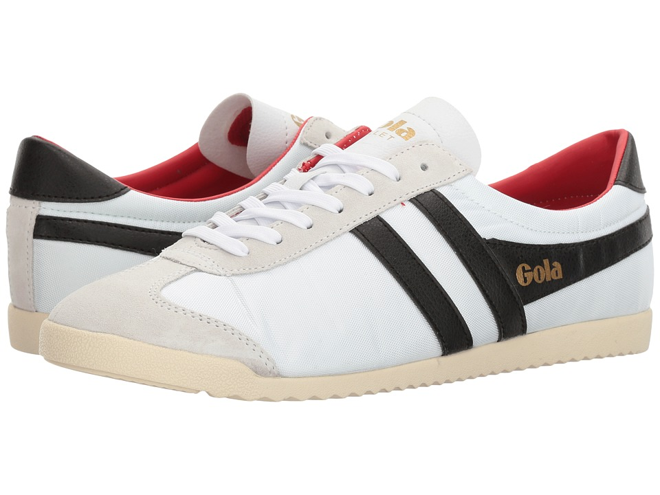 Gola Bullet Nylon (White/Black/Red) Men
