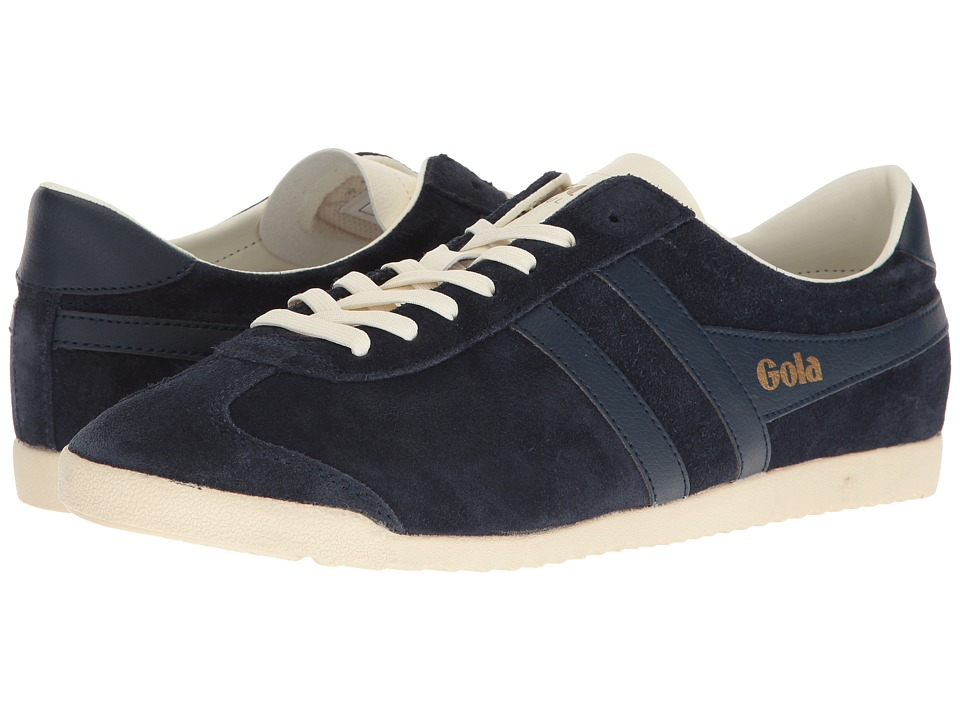 Gola Bullet Suede (Navy/Navy/Off-White) Men