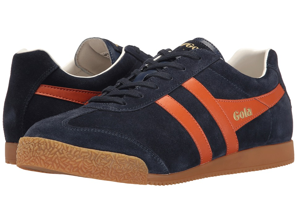 Gola Harrier (Navy/Orange/Off-White) Men