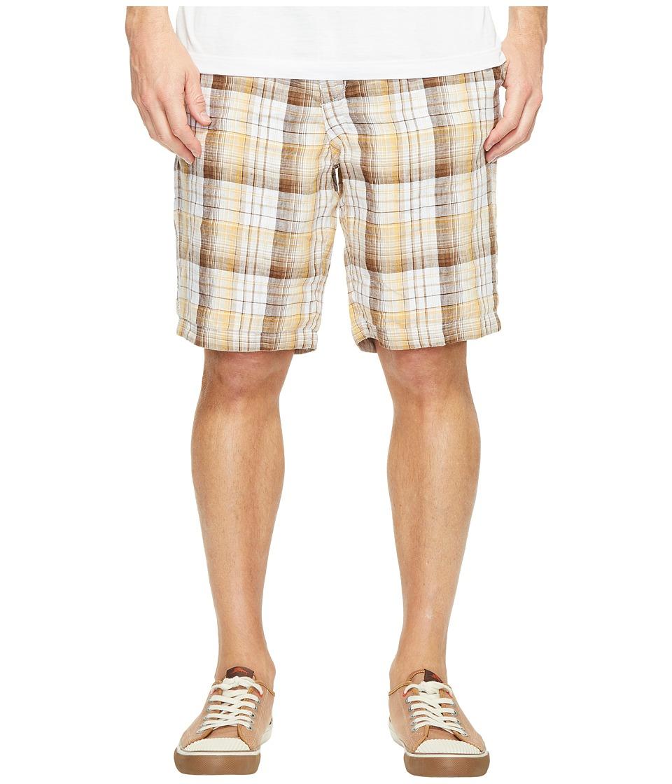 Tommy Bahama Island Duo Reversible Linen Shorts (Kona Earth) Men