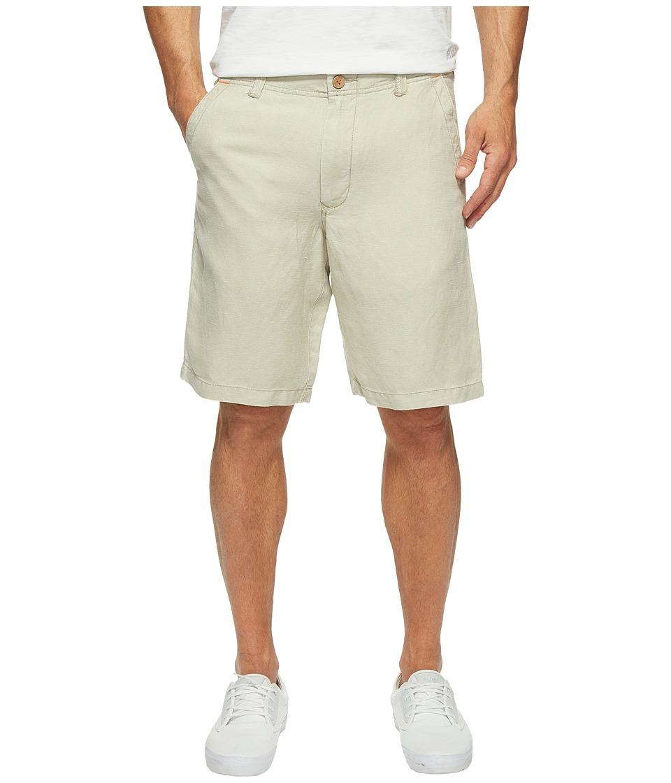 Tommy Bahama Linen The Dream Shorts (Khaki Sands) Men