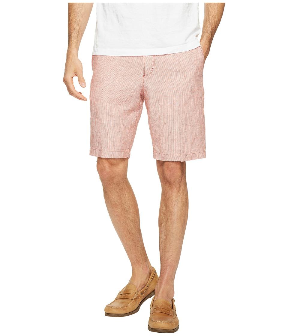 Tommy Bahama Shoreline Stripe Shorts (Sedona Clay) Men
