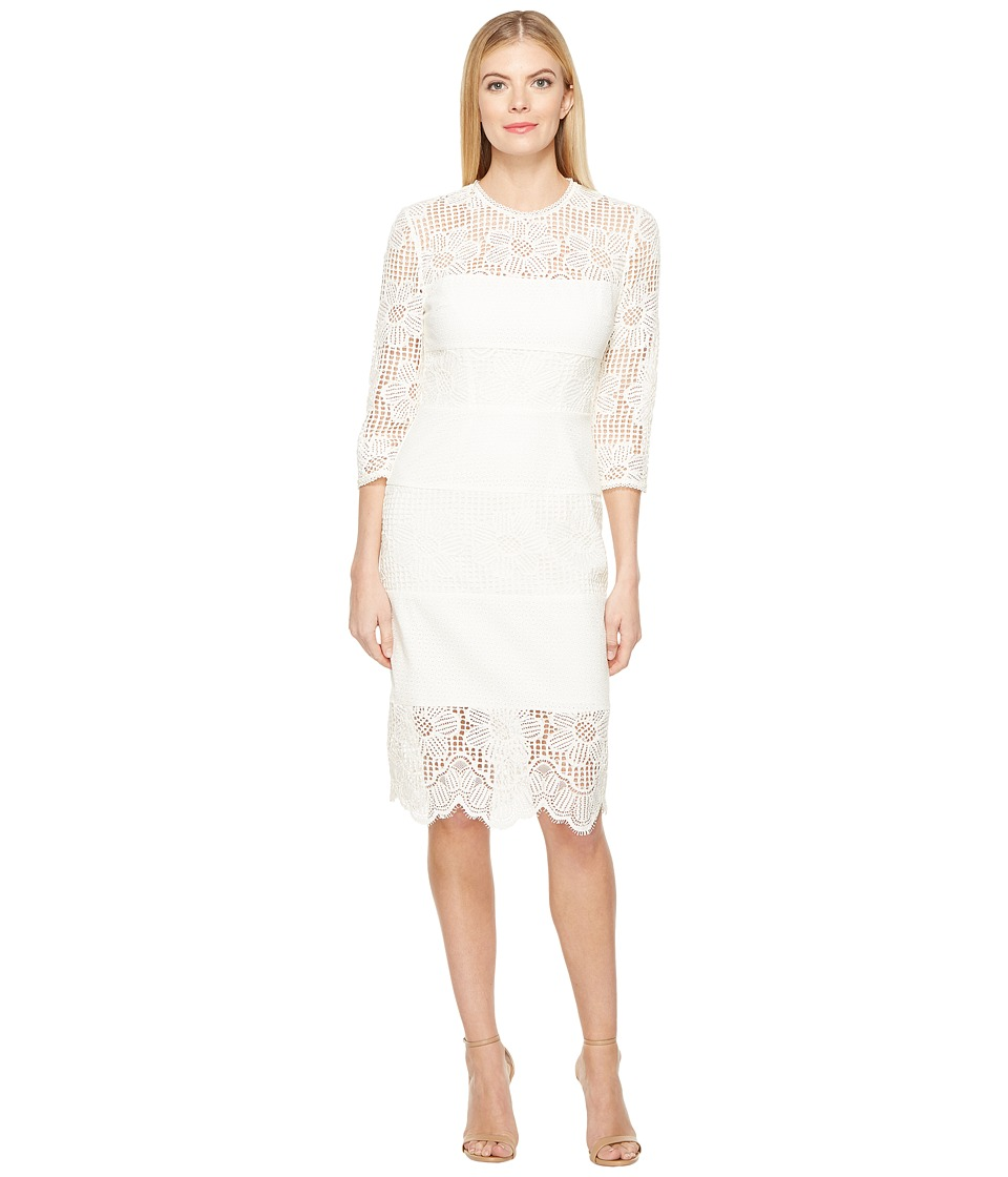 Trina Turk Divertida Dress (White Wash) Women