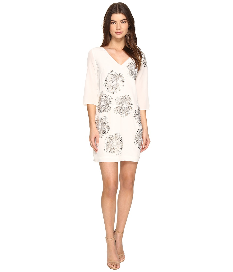 Trina Turk Glitterati 2 Dress (White Wash) Women