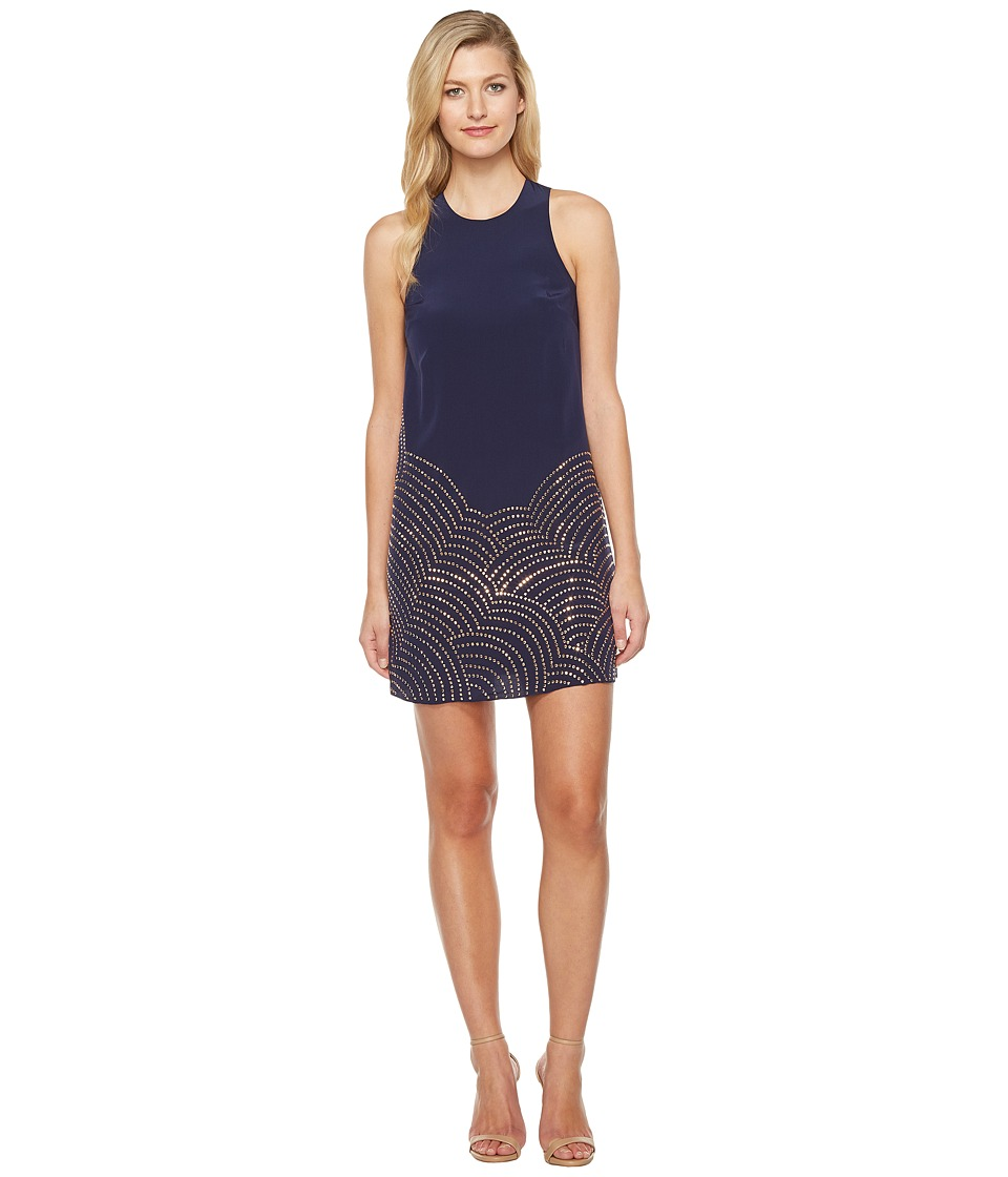 Trina Turk Rainbow Dress (Indigo/Gold) Women