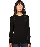 Ivanka Trump - Long Sleeve Sweater with Jewels