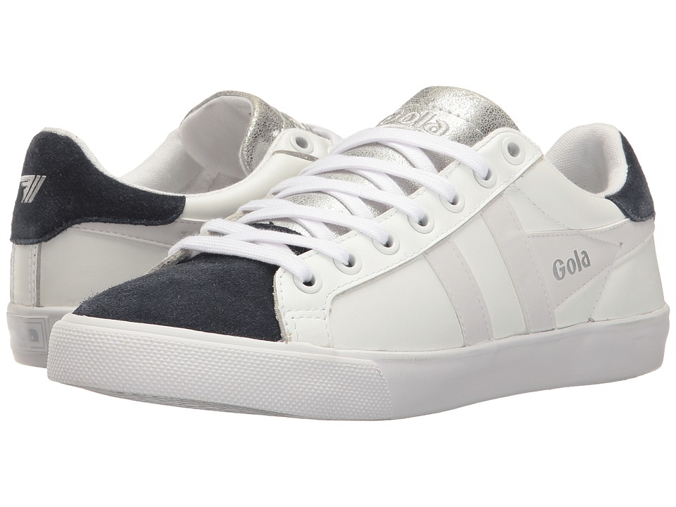 Gola Harrier Wedge (White/Navy) Women