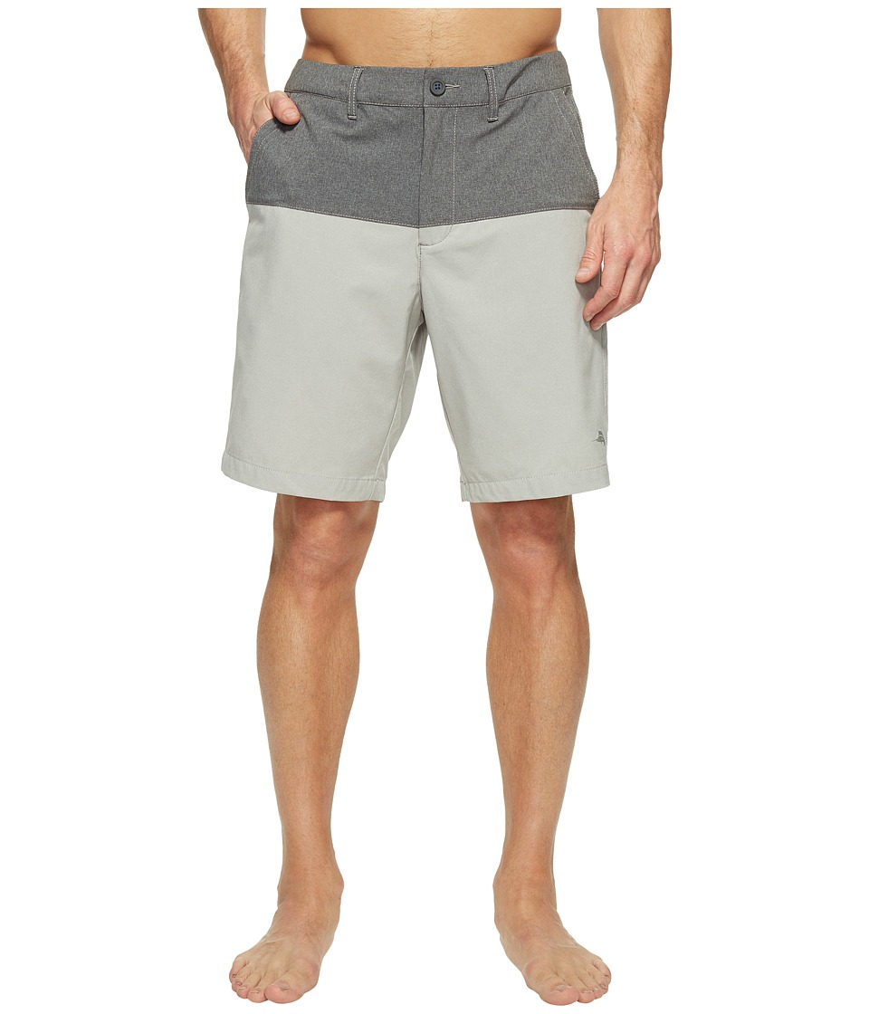 Tommy Bahama Cayman Block and Roll Swim Trunk (Heron) Men