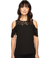 Ivanka Trump - Georgette Cold Shoulder Top