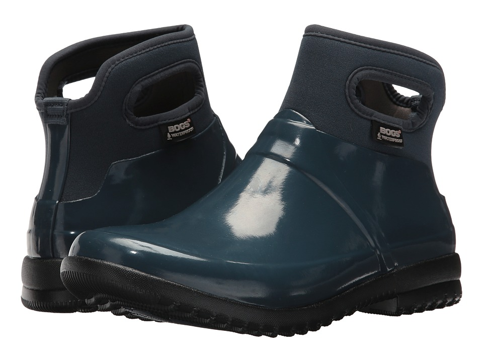 Bogs Seattle Solid (Navy) Women