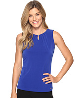 Ivanka Trump - Matte Jersey Top with Hardware Bead