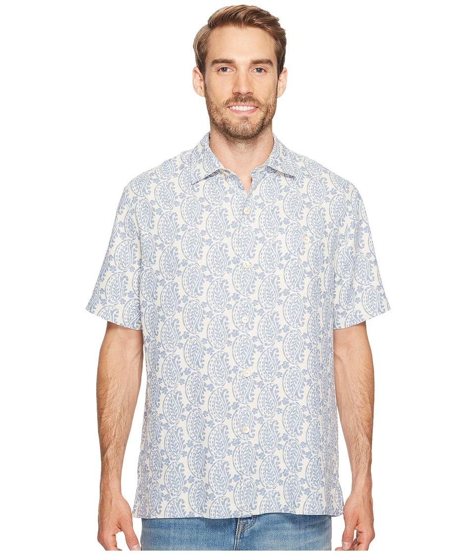 Tommy Bahama Paisley Days Camp Shirt (Continental) Men's Clothing