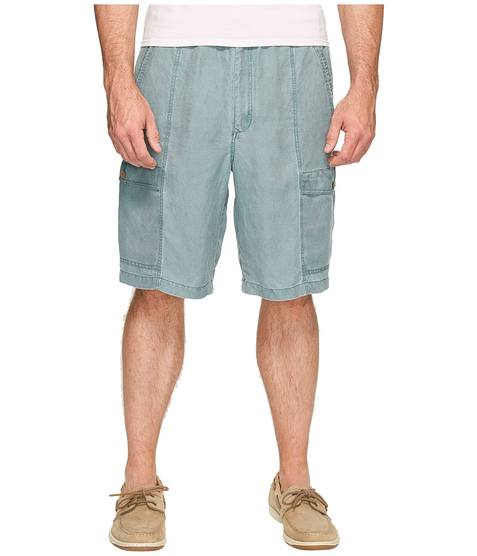 Tommy Bahama Big & Tall Big Tall Linen The Dream Cargo Lounger (Pacific Storm) Men