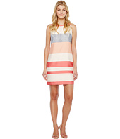Vince Camuto - Sleeveless Veranda Stripe Shift Dress