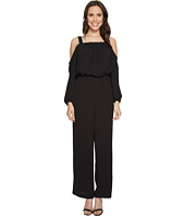 Vince Camuto - Long Sleeve Cold-Shoulder Jumpsuit
