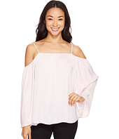 Vince Camuto - Long Sleeve Cold-Shoulder Blouse