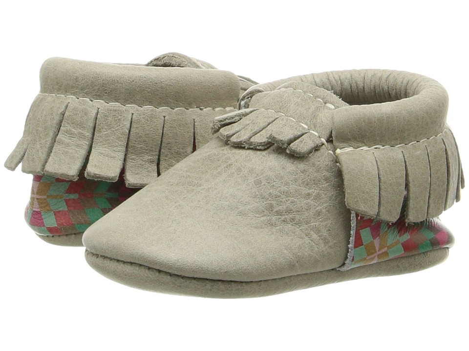 Freshly Picked - Soft Sole Moccasins (Infant/Toddler) (Coyote) Kids Shoes
