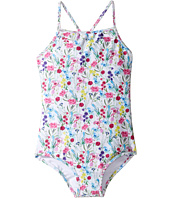 Oscar de la Renta Childrenswear - Botanical Flora Classic Swimsuit (Toddler/Little Kids/Big Kids)