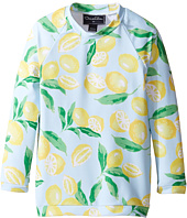 Oscar de la Renta Childrenswear - Painted Lemons Rashguard (Toddler/Little Kids/Big Kids)