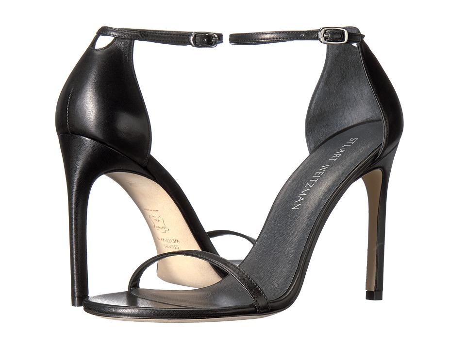 Stuart Weitzman Nudistsong (Black Nappa) Women's Shoes
