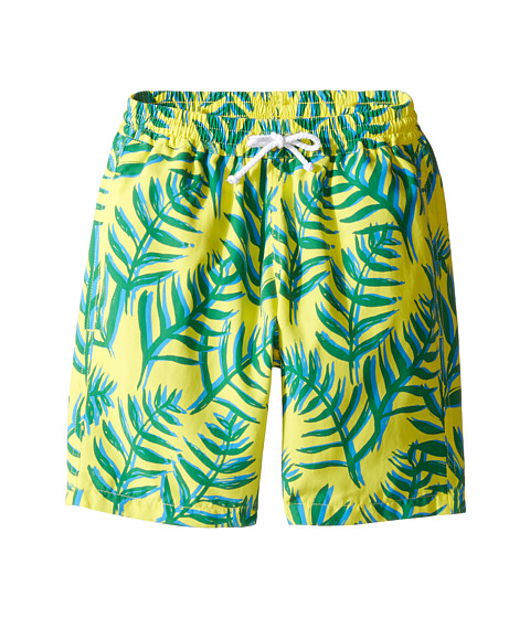 Oscar de la Renta Childrenswear Palm Leaves Classic Swim Shorts (Toddler/Little Kids/Big Kids)
