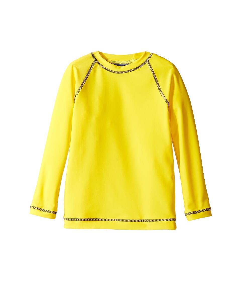 Oscar de la Renta Childrenswear Lycra Rashguard (Toddler/Little Kids/Big Kids) (Lemon) Boy
