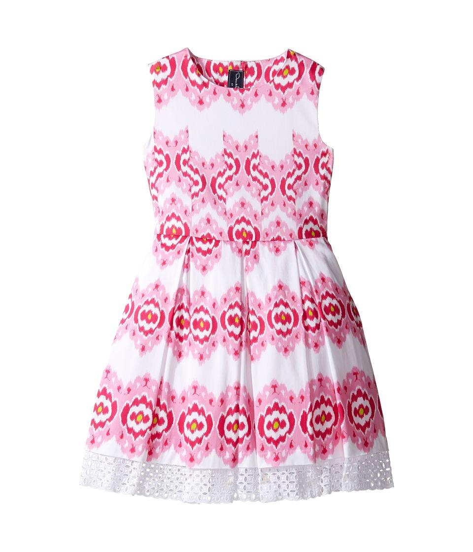 Oscar de la Renta Childrenswear - Ikat Cotton Party Dress