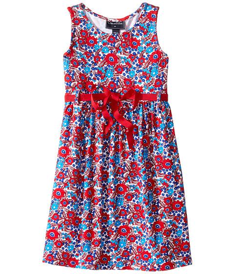 Oscar de la Renta Childrenswear Blossom Vignette Jersey Sundress (Toddler/Little Kids/Big Kids)