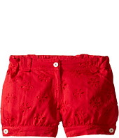 Oscar de la Renta Childrenswear - Cotton Eyelet Cute Shorts (Toddler/Little Kids/Big Kids)