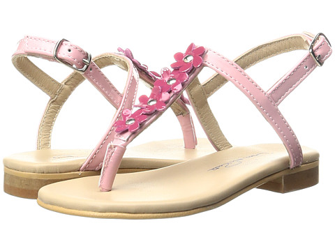 Oscar de la Renta Childrenswear Leather Daisy Sandals (Toddler/Little Kids/Big Kids)