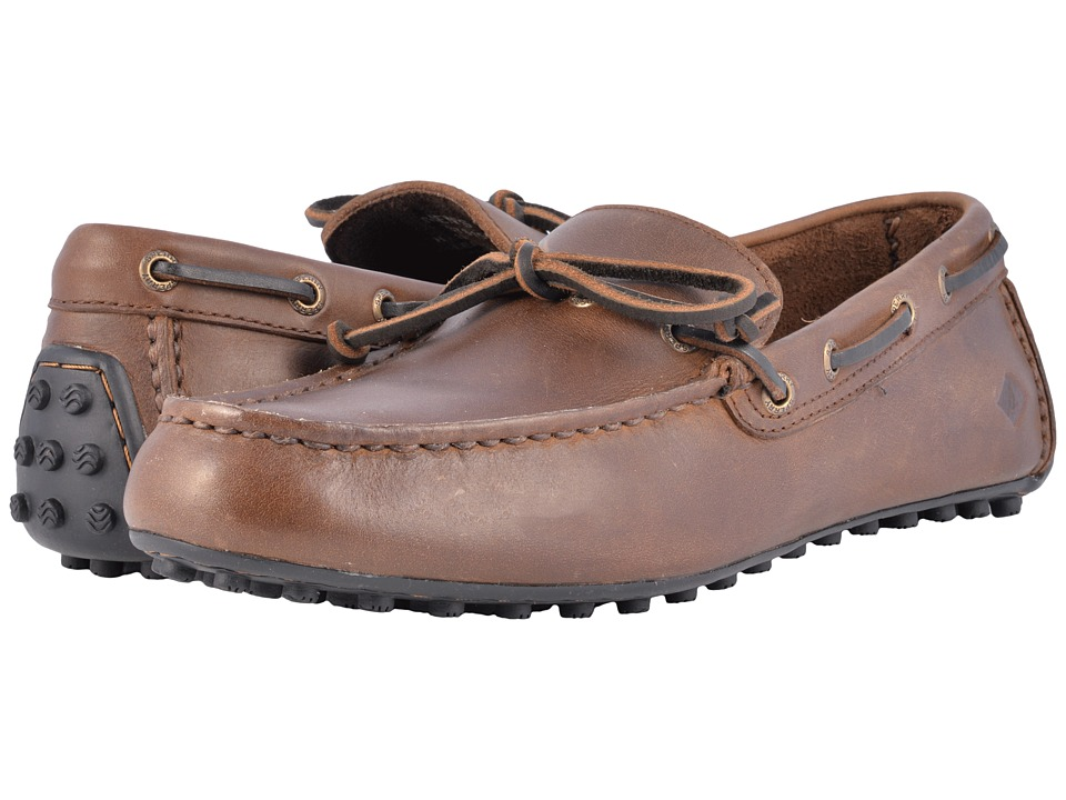 Sperry - Hamilton II 1-Eye (Dark Brown) Mens Moccasin Shoes