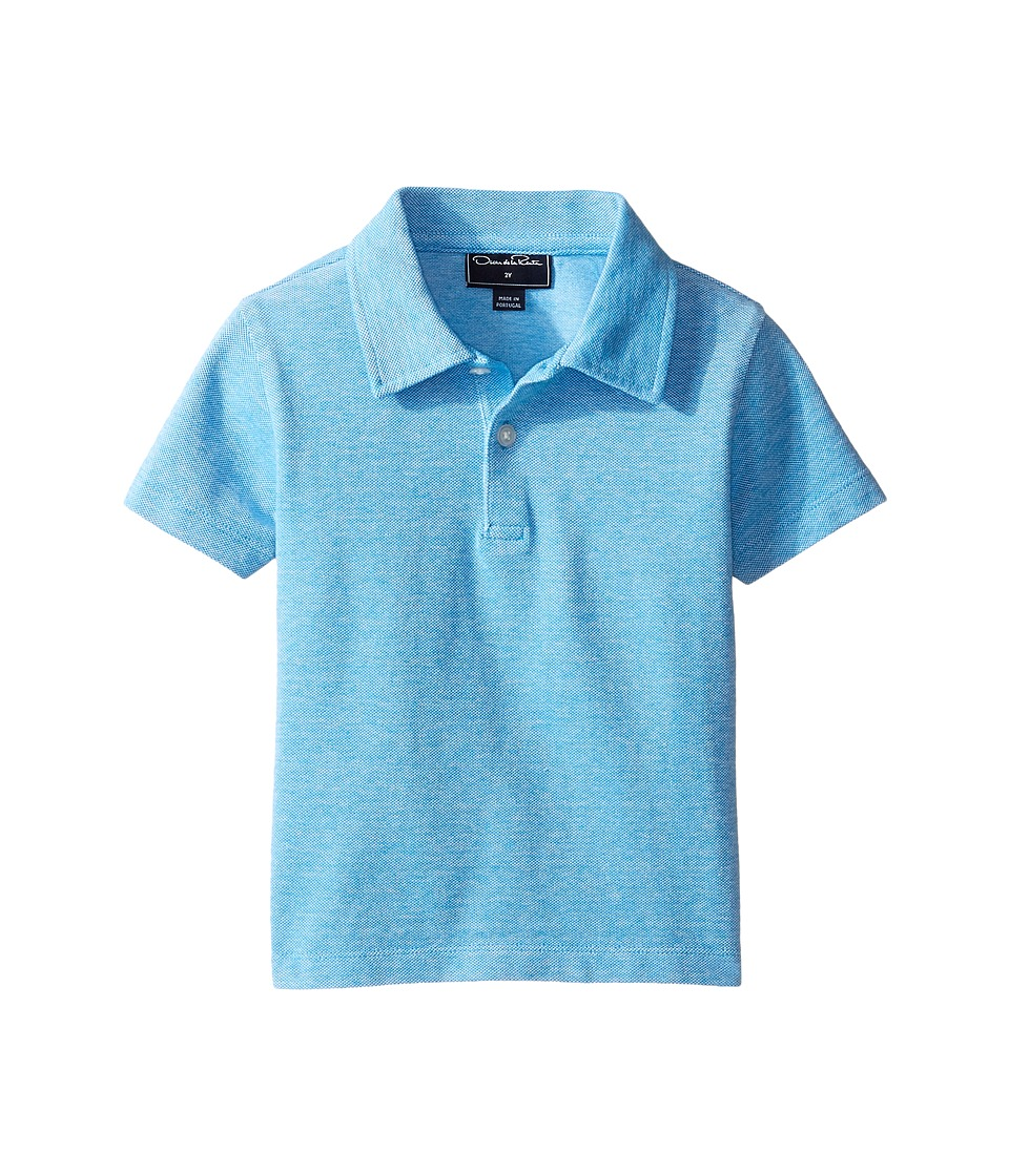 Oscar de la Renta Childrenswear - Heathered Short Sleeve Polo