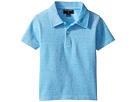 Oscar de la Renta Childrenswear - Heathered Short Sleeve Polo (Toddler/Little Kids/Big Kids)
