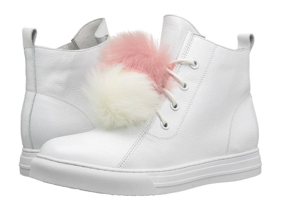 Dirty Laundry Fur Ever Leather (White) Women
