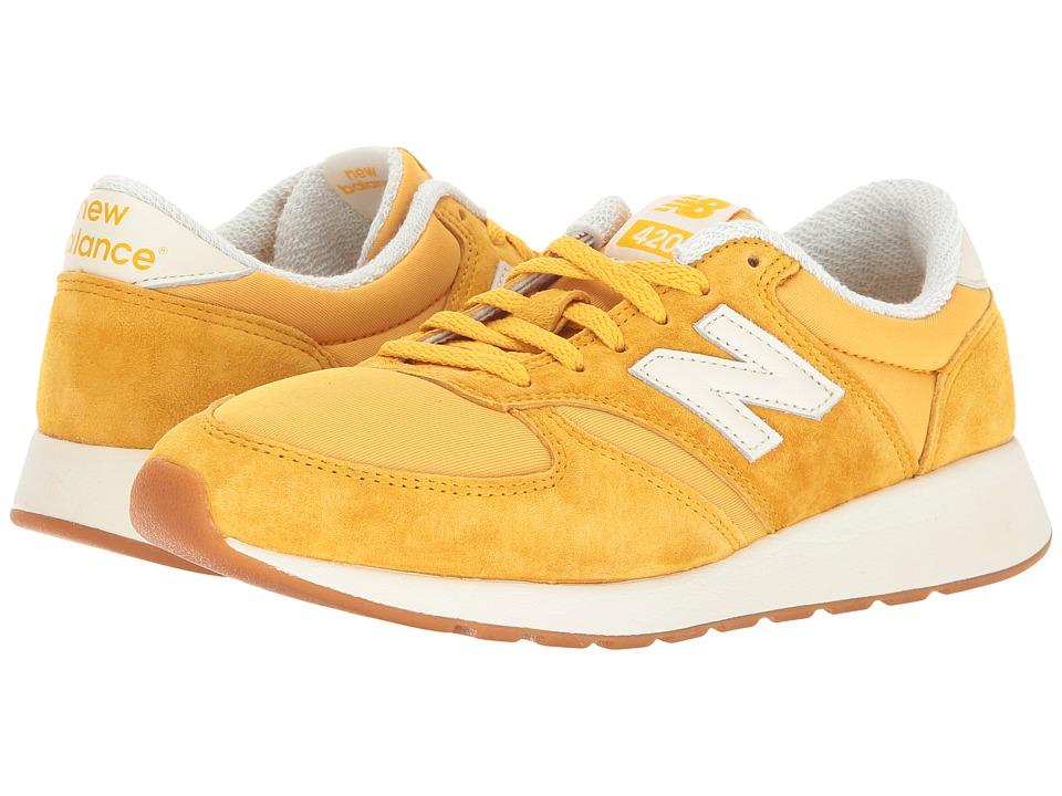 New Balance Classics - WRL420 (Saffron/Sea Salt) Womens Shoes