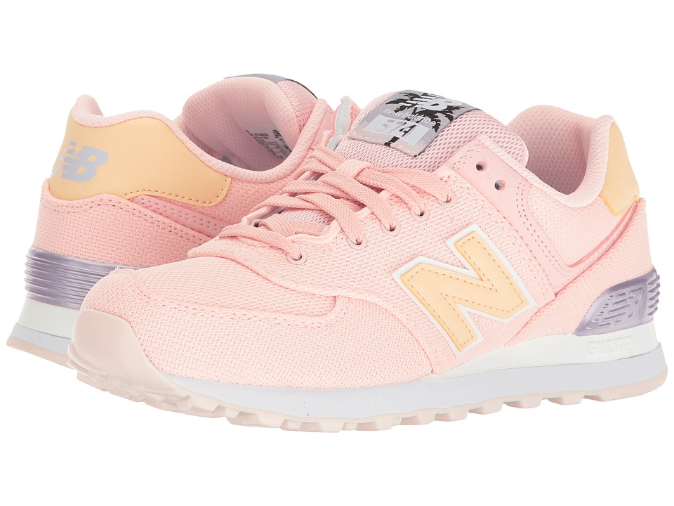 New Balance Classics WL574 Miami Palms (Sunrise Glo/Cosmic Sky) Women